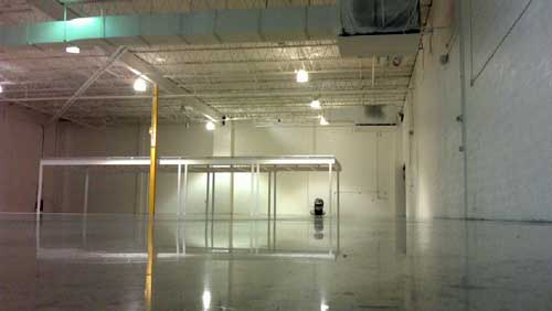 Comconcrete Flooring Miami : Bahna Sugar Warehouse Polished Concrete Floor in Miami