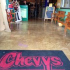 Chevy's Mexican Restaurant Polished Concrete