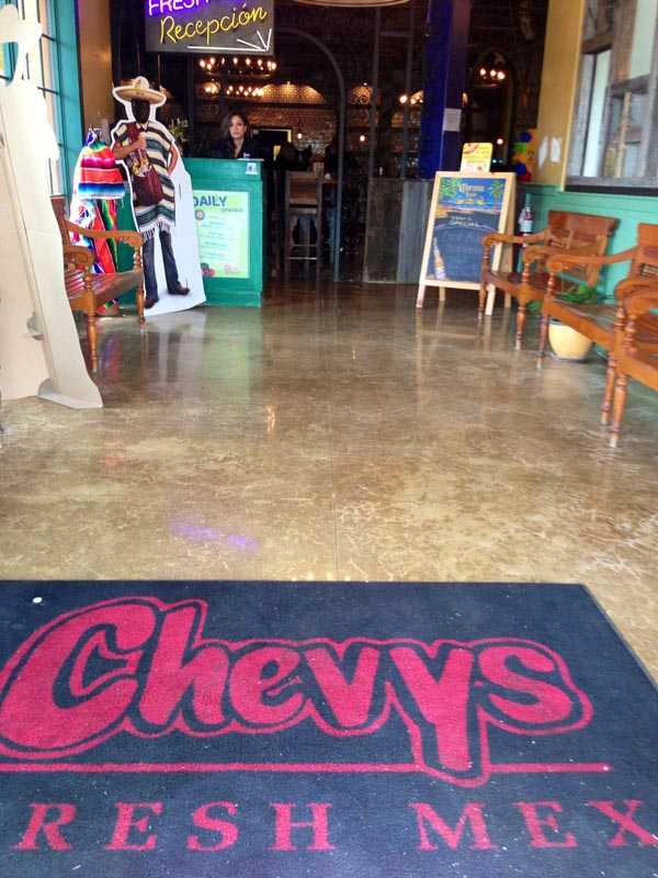 Chevy S Mexican Restaurant Miami Polished Concrete