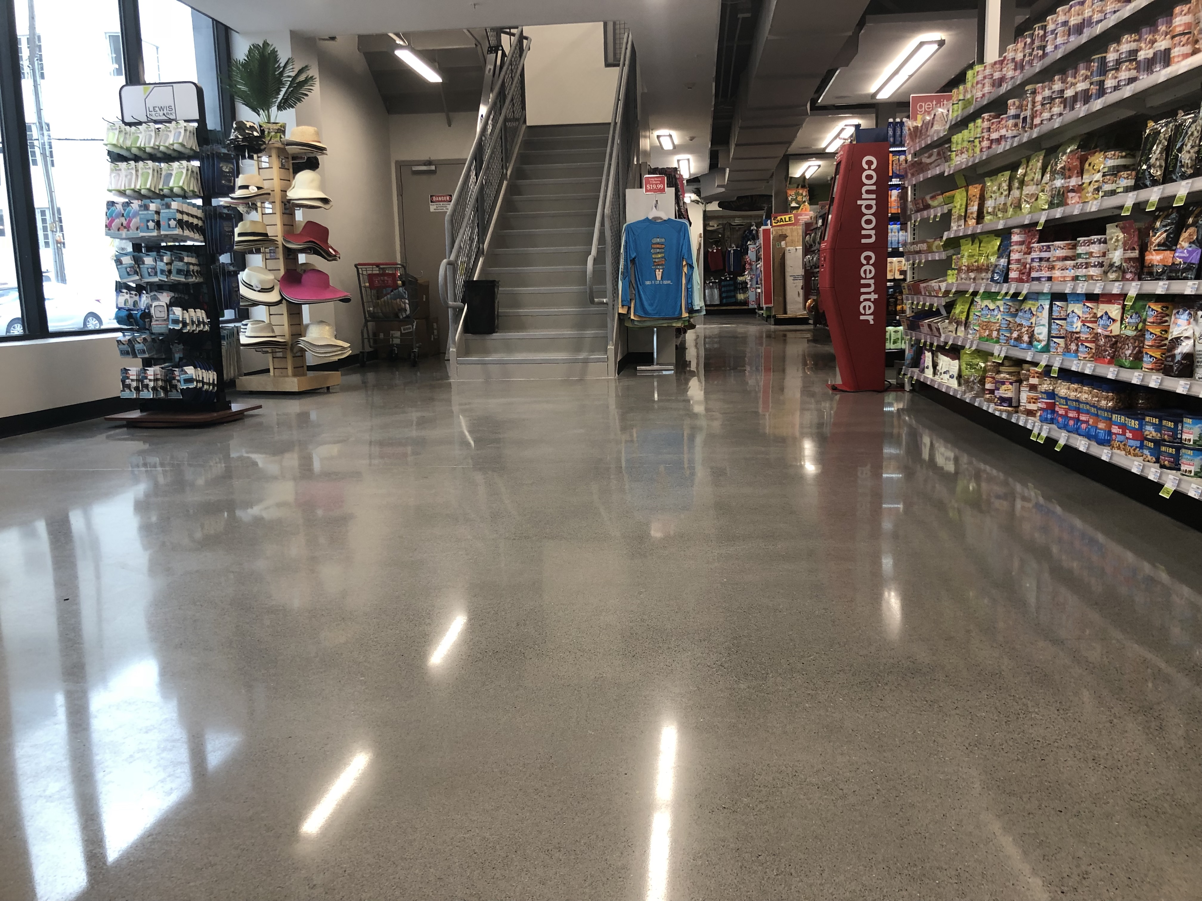 Cvs On South Beach Polished Concrete Amp Micro Topping In