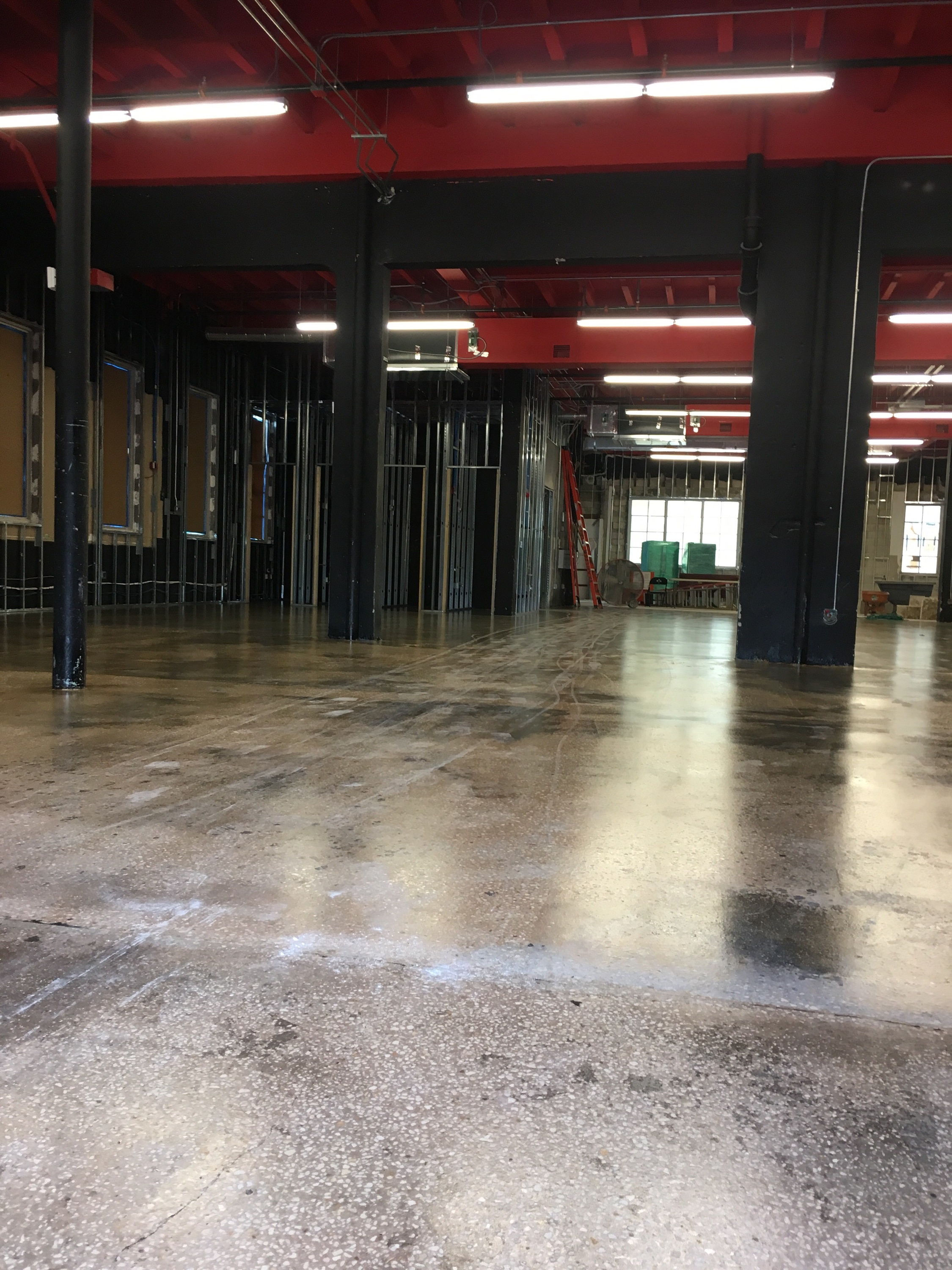 Factory Group Polished Concrete Amp Micro Topping In Miami