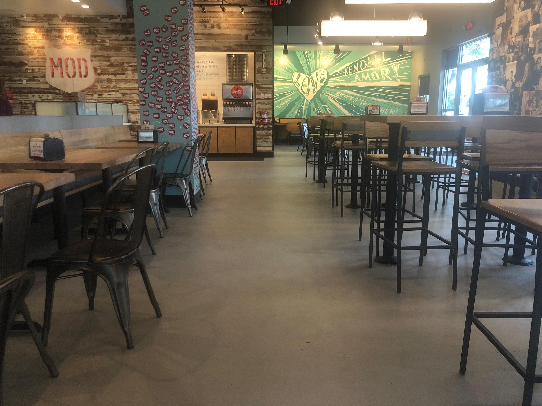 Mod Pizza Polished Concrete Amp Micro Topping In Miami